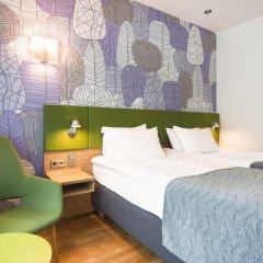 Отель Holiday Inn Helsinki City Centre 4* Стандартный номер с 2 отдельными кроватями фото 2