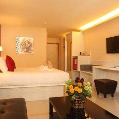 Отель Prom Ratchada Residence Таиланд, Бангкок - отзывы, цены и фото номеров - забронировать отель Prom Ratchada Residence онлайн комната для гостей фото 3