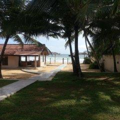 Отель Thiranagama Beach Hotel Шри-Ланка, Хиккадува - отзывы, цены и фото номеров - забронировать отель Thiranagama Beach Hotel онлайн пляж