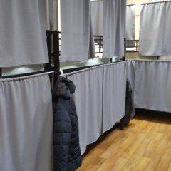 Гостиница Travel Inn Aviamotornaya 2* Кровать в общем номере с двухъярусной кроватью фото 32
