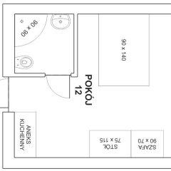 Отель Noctis Zakopane Номер Делюкс с различными типами кроватей