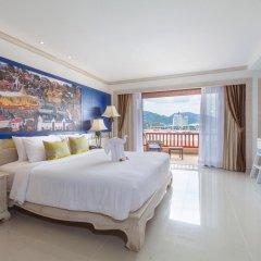 Отель Novotel Phuket Resort 4* Семейный номер Делюкс с двуспальной кроватью фото 3