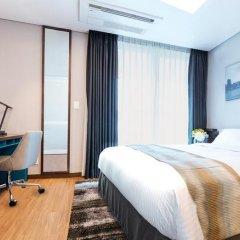 Отель Citadines Haeundae Busan 3* Студия с различными типами кроватей фото 3