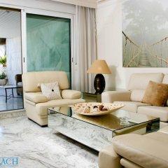 Отель Coral Beach Aparthotel 4* Улучшенные апартаменты с 2 отдельными кроватями фото 8
