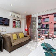 Отель Cool Sea House 2* Апартаменты разные типы кроватей фото 20