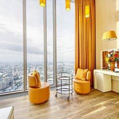 Апартаменты Sky Apartments Rentals Service Студия Делюкс с различными типами кроватей фото 22