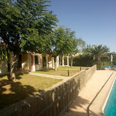 Отель Bungalows Ses Malvas Испания, Кала-эн-Бланес - 1 отзыв об отеле, цены и фото номеров - забронировать отель Bungalows Ses Malvas онлайн бассейн