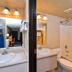 Отель Americas Best Value Inn Downtown Las Vegas США, Лас-Вегас - отзывы, цены и фото номеров - забронировать отель Americas Best Value Inn Downtown Las Vegas онлайн ванная