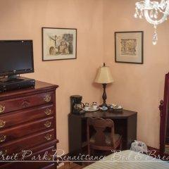 Отель Ledroit Park Renaissance Bed and Breakfast 3* Стандартный номер с различными типами кроватей фото 5