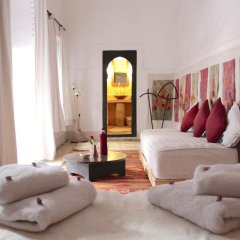 Отель Dar El Qadi Марокко, Марракеш - отзывы, цены и фото номеров - забронировать отель Dar El Qadi онлайн комната для гостей фото 5