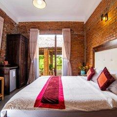 Отель Hoang Dao Villa 3* Улучшенный номер с различными типами кроватей фото 9