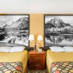 Отель Super 8 by Wyndham Diamondville Kemmerer США, Даймондвилл - отзывы, цены и фото номеров - забронировать отель Super 8 by Wyndham Diamondville Kemmerer онлайн комната для гостей фото 4