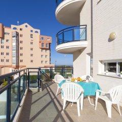 Отель Agua Marina Испания, Олива - отзывы, цены и фото номеров - забронировать отель Agua Marina онлайн балкон