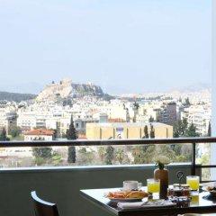 Отель Hilton Athens 5* Стандартный номер разные типы кроватей фото 21