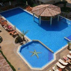 Отель Aparthotel Dawn Park Болгария, Солнечный берег - отзывы, цены и фото номеров - забронировать отель Aparthotel Dawn Park онлайн бассейн