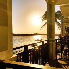Pearl River Hoi An Hotel & Spa 3* Номер Делюкс с различными типами кроватей фото 18