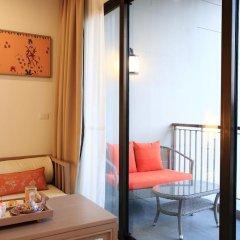 Отель Proud Phuket 4* Улучшенный номер с двуспальной кроватью фото 6