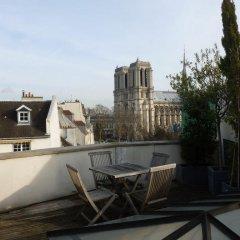 Отель St Jacques Notre Dame Париж балкон