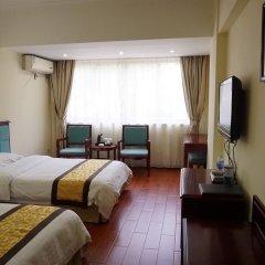 Отель Guangdong Oversea Chinese Hotel Китай, Гуанчжоу - отзывы, цены и фото номеров - забронировать отель Guangdong Oversea Chinese Hotel онлайн комната для гостей фото 4