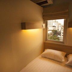 Micro Hostel Стандартный номер с двуспальной кроватью (общая ванная комната) фото 3