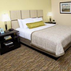 Отель Candlewood Suites Bay City 2* Люкс с различными типами кроватей фото 2
