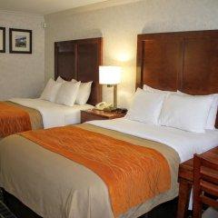 Отель Comfort Inn Near Old Town Pasadena комната для гостей фото 3