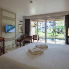 Отель Phuket Orchid Resort and Spa 4* Стандартный номер с двуспальной кроватью фото 17