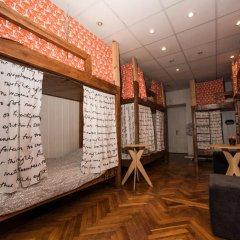 Хостел Архитектор Кровать в общем номере с двухъярусной кроватью фото 15