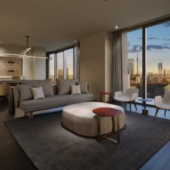 Hotel VIU Milan 5* Президентский люкс с различными типами кроватей фото 3