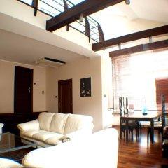 Отель Hevelius Residence Улучшенные апартаменты с различными типами кроватей фото 5