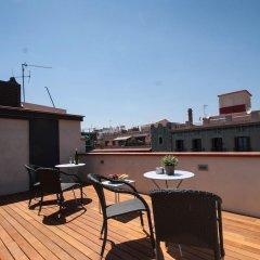 Отель Decimononico Borne Studios Барселона балкон