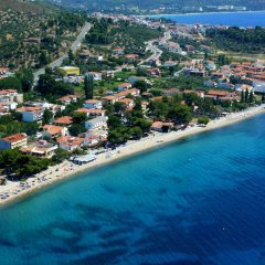 Отель Miramare Hotel Греция, Ситония - отзывы, цены и фото номеров - забронировать отель Miramare Hotel онлайн пляж фото 2