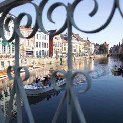 Отель de Flandre Бельгия, Гент - 2 отзыва об отеле, цены и фото номеров - забронировать отель de Flandre онлайн приотельная территория фото 2