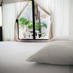Отель Hostal Haina Мексика, Канкун - отзывы, цены и фото номеров - забронировать отель Hostal Haina онлайн комната для гостей фото 7