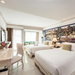 Отель Novotel Phuket Resort 4* Улучшенный номер с 2 отдельными кроватями