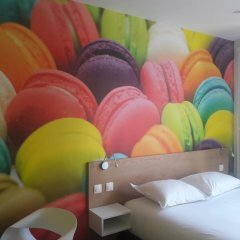Отель Le Glam's Hôtel 3* Стандартный номер с различными типами кроватей фото 4