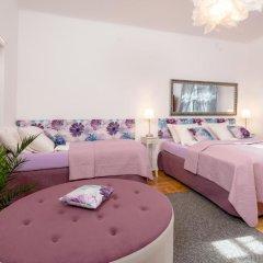 Отель Anastasia Suites Zagreb 4* Улучшенный люкс с различными типами кроватей фото 14