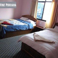 Отель Fine Pokhara Непал, Покхара - отзывы, цены и фото номеров - забронировать отель Fine Pokhara онлайн комната для гостей фото 5