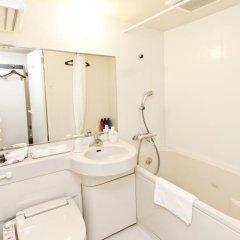 Отель Sotetsu Fresa Inn Nihombashi-Ningyocho 3* Стандартный номер с двуспальной кроватью фото 5