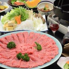 Отель Mochiduki Ryokan Минамиогуни питание