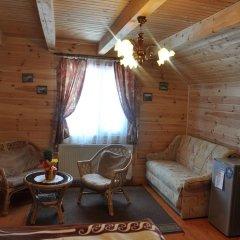 Гостиница Медведь Волосянка комната для гостей фото 5