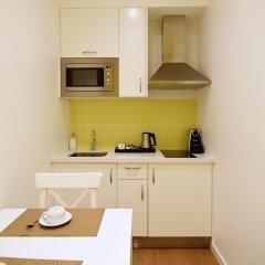 Апартаменты Rossio Apartments Студия с различными типами кроватей фото 22