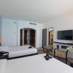 Отель Reflect Krystal Grand Cancun Улучшенный номер с различными типами кроватей фото 9