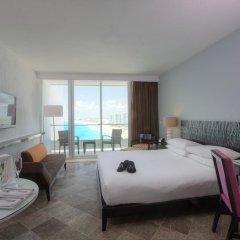 Отель Reflect Krystal Grand Cancun Улучшенный номер с различными типами кроватей фото 4