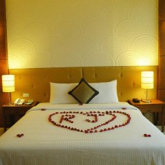 Muong Thanh Grand Ha Long Hotel 4* Номер Делюкс с различными типами кроватей фото 6