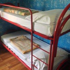 Отель HostelRoma Кровать в общем номере с двухъярусной кроватью фото 4