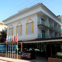 Kleopatra Atlas Hotel Турция, Аланья - 9 отзывов об отеле, цены и фото номеров - забронировать отель Kleopatra Atlas Hotel онлайн парковка