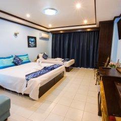 Отель The Grand Orchid Inn 2* Семейный номер Делюкс разные типы кроватей фото 9