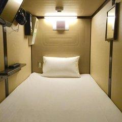 Tokyo Ariake Bay Hotel Капсула в мужском общем номере фото 5