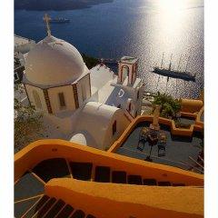 Отель Antithesis Caldera Cliff Santorini 3* Люкс с различными типами кроватей фото 12